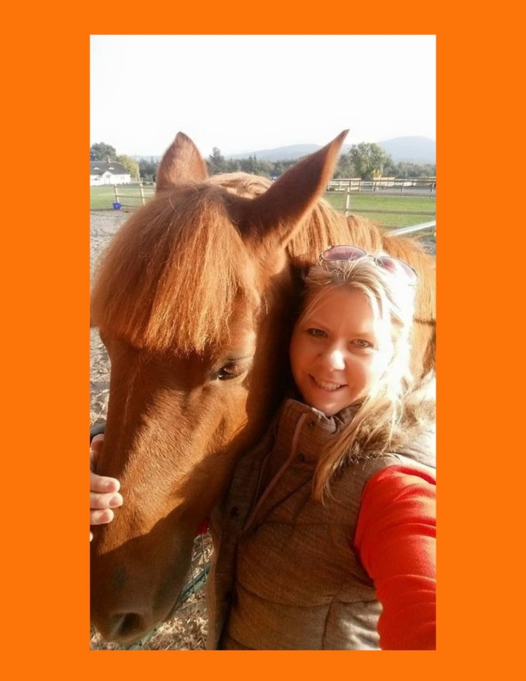 Testimonial for Shannon of Animal Love Languages from Jenn Asher and Fresa the horse